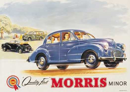 quality first - morris minor